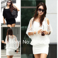Work Sheath Mini 2014 Spring NEW Fashion Designer Womens Sexy Hollow Lace Summer Casual Party Mini Dress Ladies Vestidos Clothing Plus Size