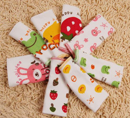 Wholesale Popular Cartoon Design Baby Belly Roll i love papa mama Infant Belly Band Single Layer Belly Wai Girth Stretch Cotton