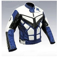 Wholesale motorcycle Jackets DUHAN racing jacket black silver waterproof amp windproof PU leather jacket