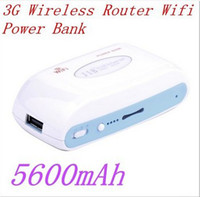 Wholesale New Arrival Portable g Wireless Router Wifi Power Bank mah latest hot sale