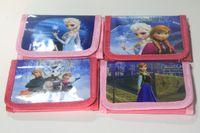 12pcs Frozen Elsa Anna cartoon wallet change pocket Frozen p...