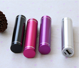 HOT!Power bank 2600 mah, mini cell phone universal charger, 18650 USB batteries