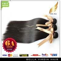 about 100g remy weave hair straight - 6A Mongolian straight hair weaves remy human hair extensions Queen hair DHL natural color black