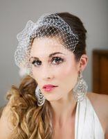 bird cage mini - 2014 Mini Birdcage Veil White Ivory Champagne Wedding Veil Bird Cage Veil Bridal Veil wedding accessories Made to Order