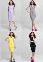 Wholesale The new summer fashion dresses Collect waist cotton dress Rib cotton cultivate one s morality dress