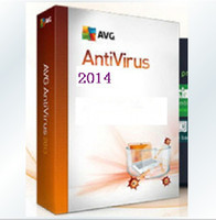Antivirus & Security Trial Mac 2014 AVG Anti-Virus 2014 English Version 5 years 3PCS 3 users AVG Antivirus software keys codes protect your computer