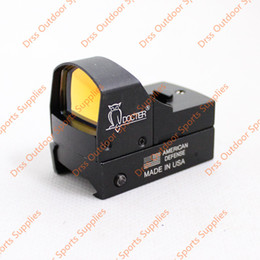Drss Docter 1x22 Brightness Sensitive Control Red Dot Sight With Switch For Airsoft Outdoor Activities AR Black(DS5042)