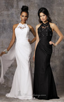 Sheath/Column Reference Images High Collar 2014 Summer New Arrival High Neck Wedding Dresses with lace Beading Sheath Chiffon Floor Length Backless Grecian Style Bridal Dresses YAA