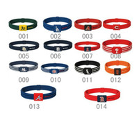 Wholesale American Major League Baseball Bracelet Energy Balance Bracelet Silicone sports bracelet