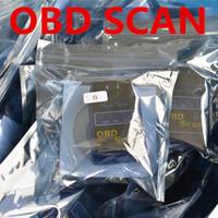 Wholesale OBDII OBD II OBD OBD2 Scantool ELM327 Interface V1 Mini Bluetooth Protocols Car Auto Diagnostic Scanner Tool Launch Free DHL FEDEX
