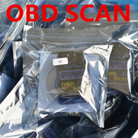 Wholesale OBDII OBD II OBD OBD2 Scantool ELM327 Interface V1 Mini Bluetooth Protocols Car Auto Diagnostic Scanner Tool Launch Free DHL FEDEX
