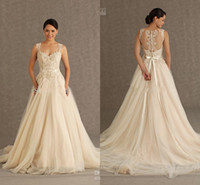 Cheap DZ 2014 Summer New Arrival V-Neck Wedding Dresses Back Covered Button Design New Grecian Style Bridal Dresses