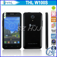 "Original THL W100s Android 4. 2 MTK6582M Quad Core 4. 5"" ..."