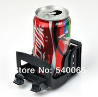 Plastic   Free ship new version Multi functional car outlet drink holder glass rack mobile phone holder car cigarettes holder