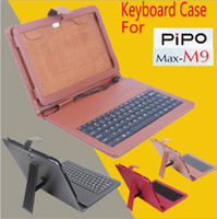 Keyboard Case 10.1'' Pipo Original Pipo M9 Keyboard Case, High Quality PU Leather Case with Keyboard for 10'1