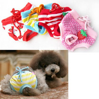 Clothing dog diapers - Sanitary Diaper Underwear Short Panty Pant Female Puppy for Pet Dog S M L XL for Option Hot