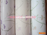Wholesale Pvc wallpaper tv background wallpaper wall stickers glue lavender three color Inquire Before Order Inquire before order