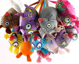Wholesale 50PCS Pet Product Fatcat Pet Toy Fat Cat Toy With Catmint Catnip Colorful Mouse Funny