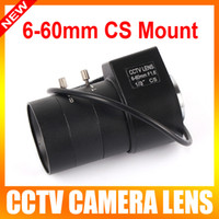 Wholesale 1 quot mm mm Varifocal Auto Iris Zoom CCTV Security Camera CS mount Lens View Angle