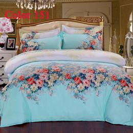 2017 blue velvet duvet cover Diamond velvet Bedding Sets Bed Cover Home  textile 4pcs Blue Bedclothes