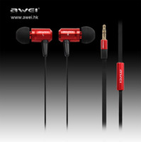 Original Super Bass awei ES- 100m Metal music Headset earphon...