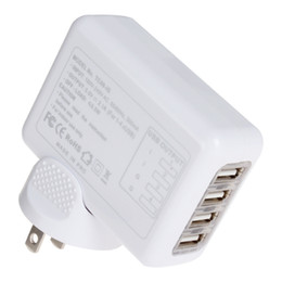 Wholesale 2 A Port USB Charger Universal USB Wall Charger AC Mobile Phone Charger For Home Travel With Plug Optional CHA_024