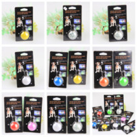 Wholesale LED light dog pendant Safety and Anti lost dog Tag flashing dog pendant