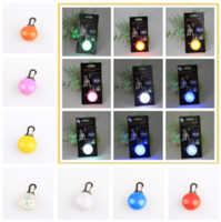 Wholesale high quality bright Pet dog LED led flash safety night light clip safety pendant lights dogs Blinker Collars