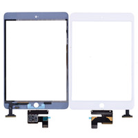 Wholesale For iPad Mini Touch Screen Digitizer and IC separated for iPad mini Black White High Quality