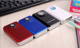 Double USB power bank7800mah, 8000 ma 18650 batteries, tablet charger