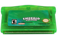 Wholesale Hot Games Shiny Labels For GBA Poke Emerald GameBoy Advance Game SAVE BY CHIP GBA game