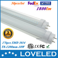 Wholesale Best Price SMD W T8 LED Tube Light Bulb mm Feet Pure White V AC CE RoHS ETL cETL Year Warranty