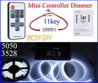 5- 24V 11 Keys Wireless LED RF Remote Controller Mini Control...
