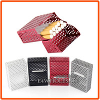 Cheap For 21 Cigarette Box Storage Case Holder Multi Holes Magnetic Classic 4 Colors Great Gift !!