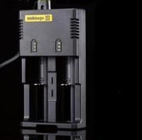 No   100% Original Nitecore I2 charger Muitifunctional US Charger Nitecore Battery Charger 26650 18650 14500 CR123A 16340 Ni-MH AA AAA C Battery