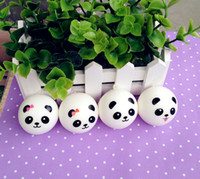 kawaii squishy - Kawaii Style Mini Panda Couple Squishy Cell Phone Charm