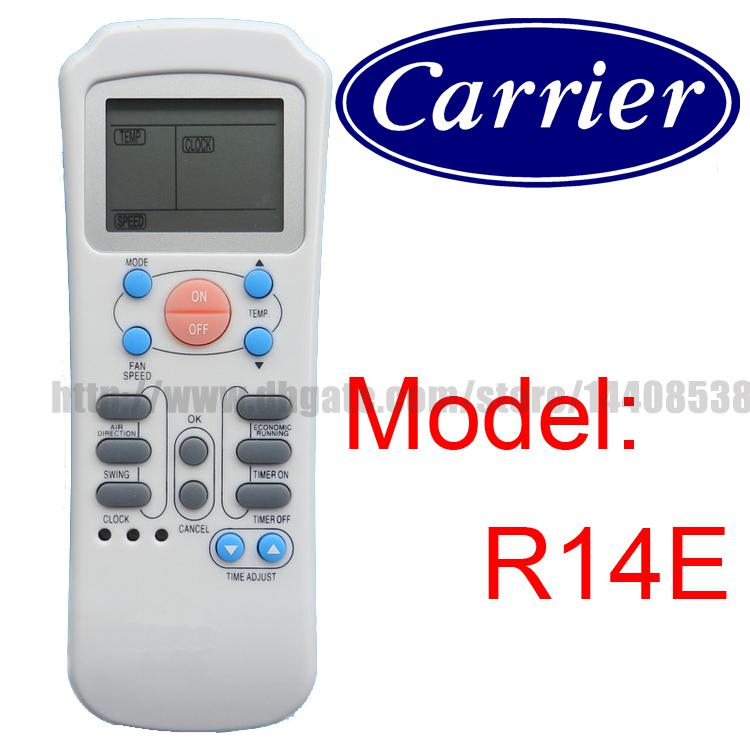 how to set time on carrier air conditioner remote