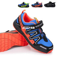 Wholesale 2014 new Salomon child sport shoes boys and girls casual athletic shoes children s running shoes for kids color A3