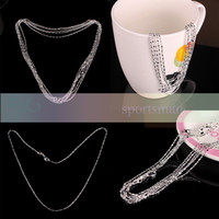Wholesale 2014 New Fashion Design Sterling Silver High Grade Necklace Charm New Arrival Silver Jewelry Accessories Gift