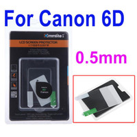 Wholesale Self adhesive mm Optical Glass Camera LCD Screen Protector for Canon D New Arrival Camera Tool Accessory