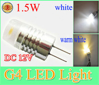 Corn bulbs and lighting - G4 base W High Power LED Light Reading Light LM Bright DC V Led Bulb Lamps White and Warm White replace Halogen lights