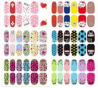 Wholesale 600 The new nail polish stickers affixed rainwater can not afford environmentally friendly nail stickers c