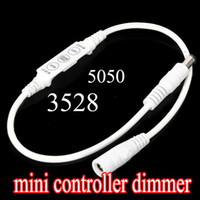 3 keys Mini controller Dimmer 2 DC plug 12V 72W for Single C...