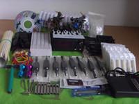 Wholesale Tattoo Kit Pro Machine Guns Inks Power Supply Needle Grips