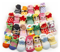 Wholesale Three dimensional shape of socks newborn baby socks non slip baby socks cartoon baby socks children socks