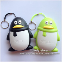 50pcs Penguin Design 5600mah Universal Power Bank Portable E...