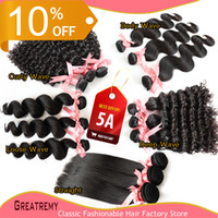 5 Texture 100% Brazilian Indian Malaysian Peruvian Virgin Ha...