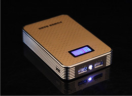 Wholesale! 2014 the latest LCD power bank 12000 mah, 18650 battery packs, samsung, lenovo... Mobile phone universal charger