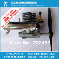 Wholesale TAIYO Methanol Engine for Model Airplane New Japanese Original Engine Aircraft Sets NoviceDIY Necessary