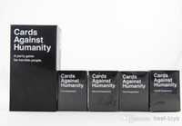 Wholesale Cards Against Humanity Games Bundle Base plus First Second Third and Fourth Expansion Packs US Version Large Arrive